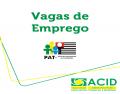 Vagas de emprego - PAT (22/05/2015)